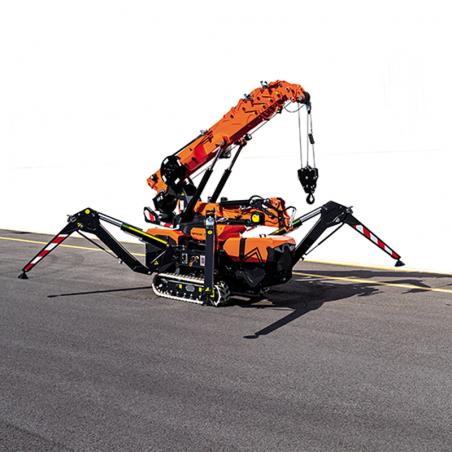 Gru spider telescopica cingolata